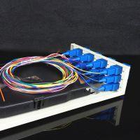 【厂家直销】12芯机架式光缆终端盒 常规光纤盒 皮线光缆终端盒