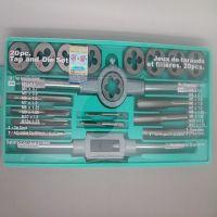 12PC 20PC 套丝锥板牙组套 丝攻套装 公制丝锥