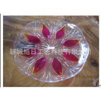 国内直销透明塑料糖果盘 西式纯色亚克力盘子 质量保证 一件代发