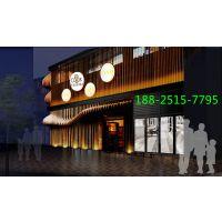 供应餐厅外墙氟碳弧形铝方通-酒店外墙弧形铝格栅
