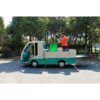 锡牛非封闭电动环卫车 装垃圾桶运输清运车 液压尾板操作 装6~8桶