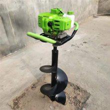 便携式植树挖坑机 多用汽油打孔机 富兴水泥电杆专用挖坑机