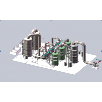 派力迪-味精发酵污泥烘干-低温等离子废气处理-型号10万方