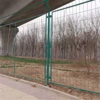 工厂隔离网#框架护栏#双边丝折弯护栏