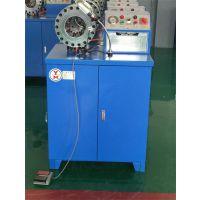 本厂经营大棚锁管机、自动扣压机、数控压管机、钢管缩管机等一鸣液压