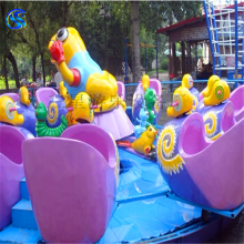 三星儿童游乐设备12人蜗牛特工队
