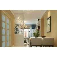 梵客家装|华润橡树湾|97平两居室|新中式装修风格效果图