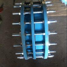 供应不锈钢双法兰限位伸缩接头C2F DN200 PN4.0MPA高压传力接头【润宏牌】