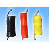 景县尼龙气制动螺旋管及七芯电缆螺旋线、尼龙气制动螺形管 、七芯电缆螺形线、 尼龙螺旋管