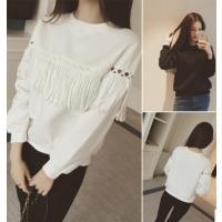 春秋新款女士打底衫韩版学生纯棉长袖T恤 厂家直销 好质量