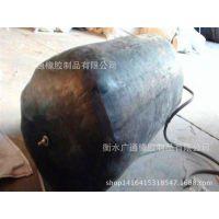橡胶水堵管道封堵器橡胶堵水气囊闭水试验管道堵塞器400mm*1米