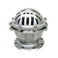 法兰底阀、H42W-16P不锈钢底阀/铸钢底阀、立式底阀