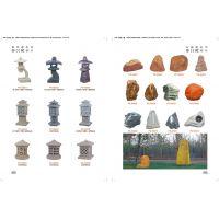 供应湖北等地公园常用树脂仿石园林音箱草坪灯(CP-028)