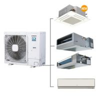 上海总代日立中央空调家用3P匹变频空调VAMmini风管内机一拖四一拖五六七