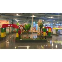 厂家直销儿童模拟驾校交通小镇大型组合游乐场园驾驶学校设备