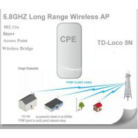Outdoor wimax CPE 300Mbps wifi bridge Wireless Access Point ISIGAL