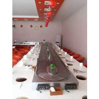 天津旋转烧烤设备 壹欣餐饮m-2烧烤旋转台卡座型设备厂家