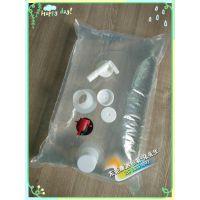 食品级液体BIB袋 高抗压蝴蝶阀包装袋定制 出口盒中袋定制厂家 耐高温