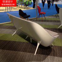 【铠涵工艺品】玻璃钢休闲椅价格-创意沙发定制-商场美陈休闲椅定制