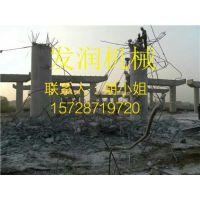 浙江余姚静态爆破劈裂机钢筋混凝土桥墩爆破分裂液压劈裂机