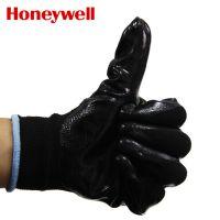 正品霍尼韦尔WE210CN防护手套 聚氨酯涂层工作手套 耐油耐磨手套