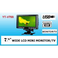 7寸车载电视液晶显示器/MP4/USB/SD