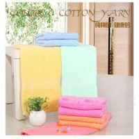 厂家直销素色纯棉浴巾 卡通小猪婴儿浴巾批发