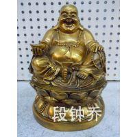 纯铜葫芦佛珠弥勒佛像小号摆件 厂家直销特价包邮