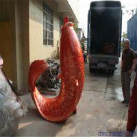 锦鲤鱼雕塑 海洋系类雕塑 泡沫雕塑 玻璃钢雕刻 广告拍摄