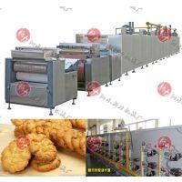 热风辐射混合燃气隧道炉 食品隧道炉 饼干生产线 泗水新力机械