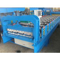 琉璃瓦成型机彩钢瓦设备兴益压瓦机厂840型