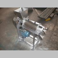 蔬菜螺旋榨汁机 500公斤每小时产量螺旋榨汁机 鼎信特供
