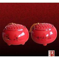 景德镇唐龙高档礼品茶叶罐生产厂家,青花瓷罐子,手绘陶瓷罐