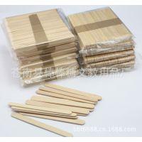 140*10原木色棒冰棍棒DIY模型木棒手工材料木制袋装冰棒条供应