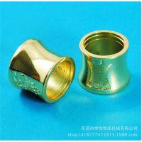 电镀金色五金瓶盖配件 锌合金香水瓶盖厂家