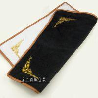 珠宝玉器黑白色双面绒布看货布散件展示布首饰品柜台展示垫