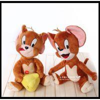 毛绒玩具公仔 猫和老鼠 汤姆 杰瑞 TOM猫 儿童玩偶公仔