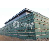zinc coated steel welded mesh hesco barrier qiaoshi