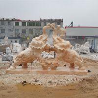供应石雕大象晚霞红石材石雕如意大象雕刻厂家定制