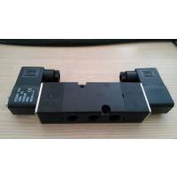 4M310-08B电磁阀两位五通板式1/4接口