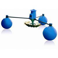 鱼塘渔业虾塘水产养殖增氧机 220V单相1.5KW叶轮式增氧机