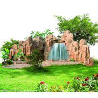 上海浦东新区塑石假山、水泥假山制作、压模地坪、透水地坪、仿木栏杆