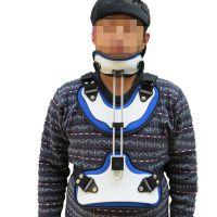 头颈胸矫形器 成人头颈胸支具 颈椎矫形器医用矫形器厂家