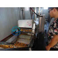 全自动连续式鱼豆腐油炸机 诸城市有为机械优质供应商