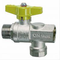 意大利CIM620/DN20球阀带过滤器_Cim620MAG燃气过滤器带球阀