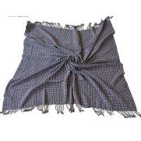 内蒙古原产正品秋冬家庭儿童成人藏蓝色纯羊毛毛毯