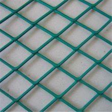 菱形防护网 红色围墙网 脚手架钢板网
