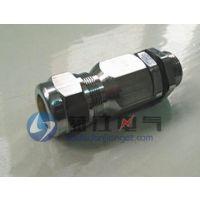 供应M32铠装防爆电缆接头 加工不锈钢铠装防爆接头
