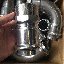 304不锈钢三通140*6不锈钢管三通 不锈钢管配件