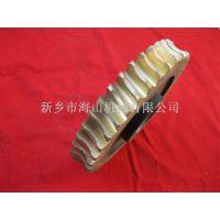 河南厂家专业订制   黄铜蜗轮    圆锥破碎机配件